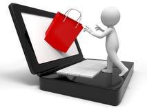 Web Shoppin Royalty Free Stock Photography