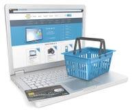Web Shopping. Royalty Free Stock Photography