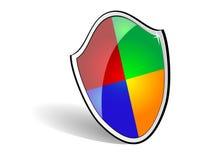 Web-Sicherheit sheld stock abbildung
