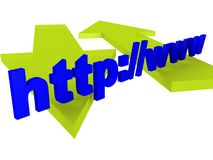 Web Sign royalty free stock images
