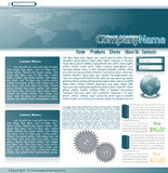 Web site. Collection of templates of website (Party #2 vector illustration