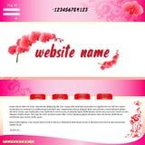 Web site Immagine Stock Libera da Diritti