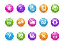 Web site & Internet più la serie del Rainbow di // Fotografie Stock