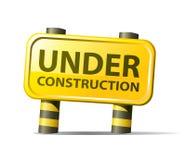 Web site bajo construcción ilustración del vector