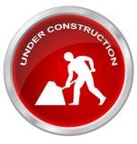 Web site bajo construcción stock de ilustración