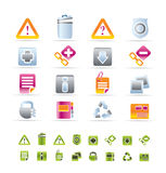 Web site and computer Icons Stock Photo