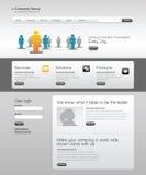 Web site del modello di affari. Fotografia Stock Libera da Diritti