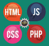 Web site design Stock Image