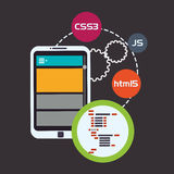 Web site design Stock Photography