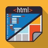 Web site design Stock Images