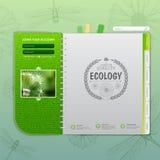 Web site design. Ecology background Royalty Free Stock Photos