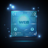 Web site design. Technology background Stock Photos