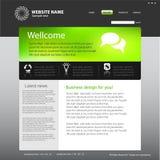 Web site design template. Web site template idea for your design Stock Photos