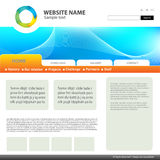 Web site design template. Stock Image