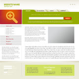 Web site design template. Royalty Free Stock Photos