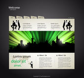 Web site design template Royalty Free Stock Photo