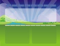 Web site design template 3 Stock Image