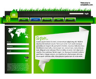 Web site design template 37 Stock Photo