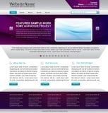 Web site di affari Immagini Stock Libere da Diritti