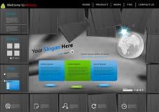 Web site globe template Stock Photo