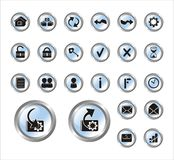 Web site Icons Royalty Free Stock Photography