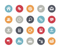 Web Site Icons // Classics Royalty Free Stock Photography