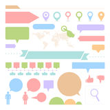 Web site icons set great for any use. Vector EPS10. Royalty Free Stock Images