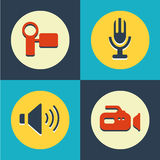 Web site icons set great for any use. Vector EPS10. Stock Photos