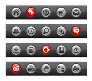 Web Site & Internet // Button Bar Series Stock Images