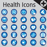 Web Site and Internet Icons medicine fitness Stock Photos