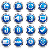 Web Site & Internet Icons - SET TWO Stock Photography