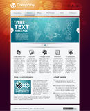 Web site moderno do negócio Ilustração Stock