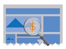 Web site sample info royalty free stock photos