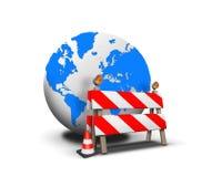 Web site sob a construção Fotos de Stock Royalty Free