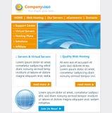 Web site template Stock Photos