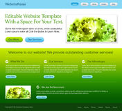 Web site template Stock Photos