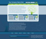 Web site template Royalty Free Stock Photography