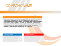 Web site template vector Royalty Free Stock Images