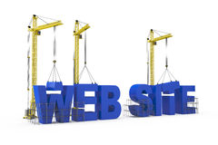 Web Sites Construction concept Royalty Free Stock Images