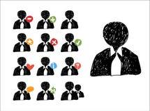 Web Sketch Vector Icons Stock Photos