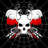 Web Skull Royalty Free Stock Photo