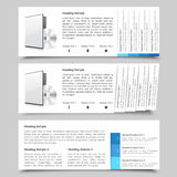 Web Slide Templates Royalty Free Stock Images
