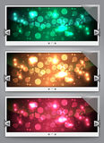 Web Sliders With Glass Stock Photography