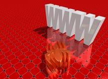 Web spider Fotografía de archivo libre de regalías