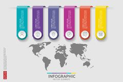 Web6 steps infographic. timeline design template with 3D paper label and world map background. Business concept with options. For. 6 steps infographic. timeline Royalty Free Stock Image