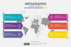 Web6 steps infographic. timeline design template with 3D paper label and world map background. Business concept with options. For. 6 steps infographic. timeline Stock Photo