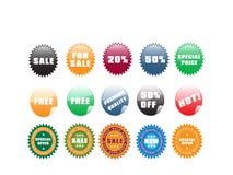 Web stickers Royalty Free Stock Photo