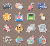 Web stickers Royalty Free Stock Image