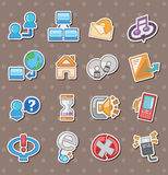 Web stickers Stock Photos