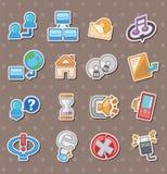 Web stickers Stock Photos